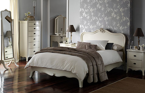 the rimini range of painted bedroom furniture from tch traditional