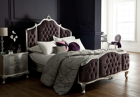 Each piece of Rococo bedroom furniture has hand crafted detailing to make  each individual item unique  It comes in a choice of elegant finishes  including. Rococo Painted French Style Bedroom Furniture Collection at Karl